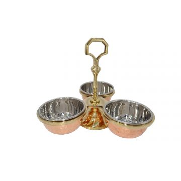2 x Pickle stand (3 compartment)